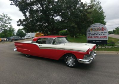 Fully Restored 1956 Ford Convertible